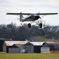 G-SSTL maiden flight - first landing