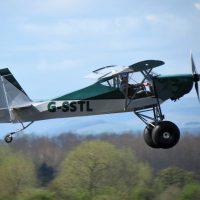 G-SSTL first flight