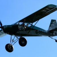 G-SSTL maiden flight