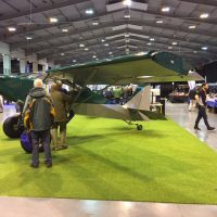 Queuing up to get a look at the SuperStol